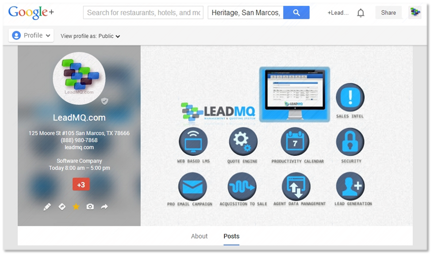 LeadMQ on Google+