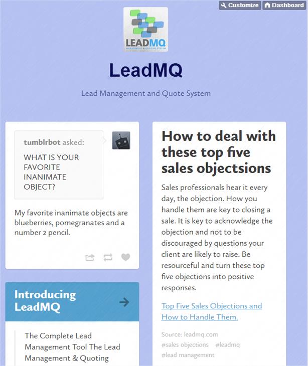 LeadMQ on Tumblr